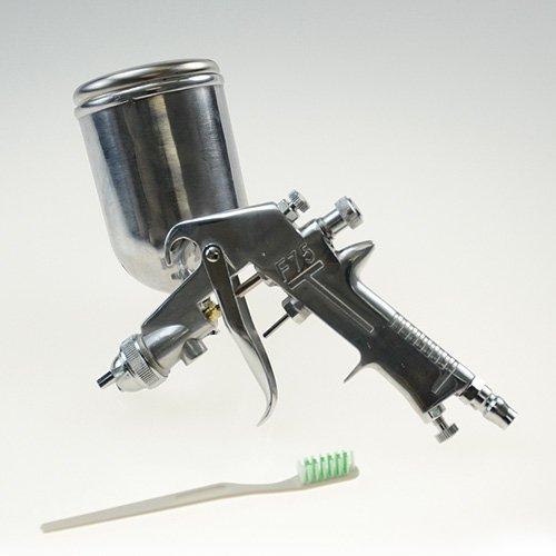 エアー工具 マーケット 塗装ガン 倉 軽量 外装 ノズル口径2.0mm塗装エアーブラシ重力式 エアースプレーガン重力式F75 カップ400ml