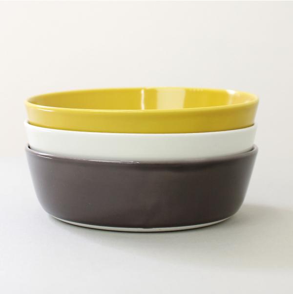CLASKA 人気の製品 クラスカ ドーのボウルL18 深皿 磁器 未使用 波佐見焼 シンプル ☆