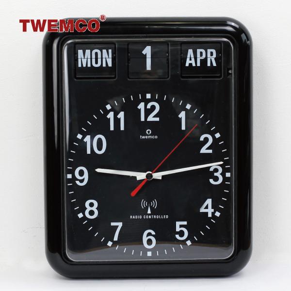 TWEMCO[トゥエンコ]ラジオ コントロール カレンダー クロック RC-12A