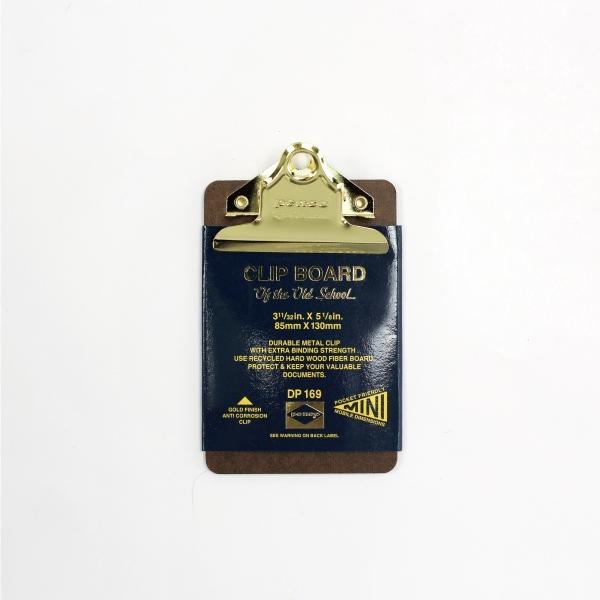 信託 penco ペンコ ついに入荷 クリップボード ゴールド ミニ