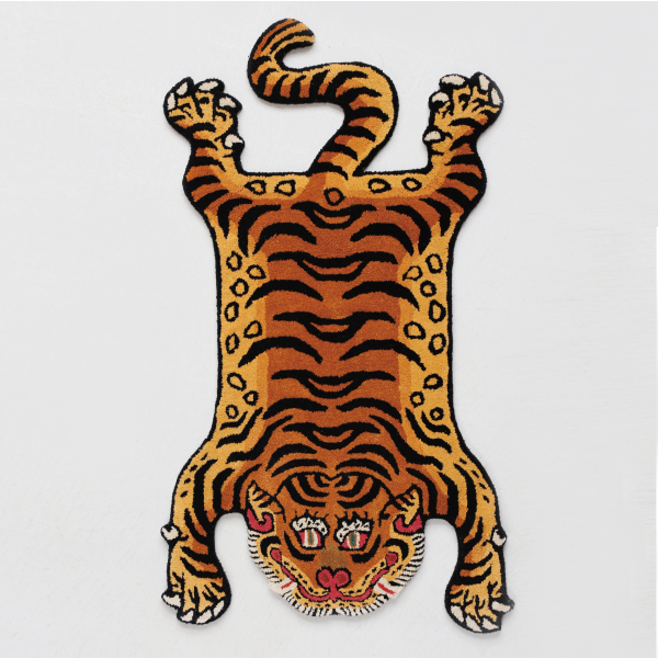 "DETAIL[ディテール]Tibetan Tiger Rug""DTTR-02/Medium"""