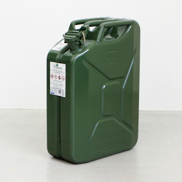 Hunersdorff[ヒューナースドルフ]Metal Fuel Can Classic 20L