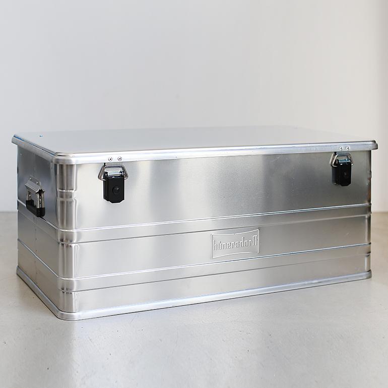 "Hunersdorff[ヒューナースドルフ]Aluminium Profi Box ""140L"""