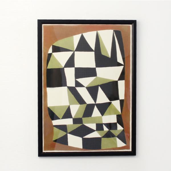 Leise Dich Abrahamsen[ライゼ ディッチ アブラハムセン]POSTER A3(LA04-Brunt Print)