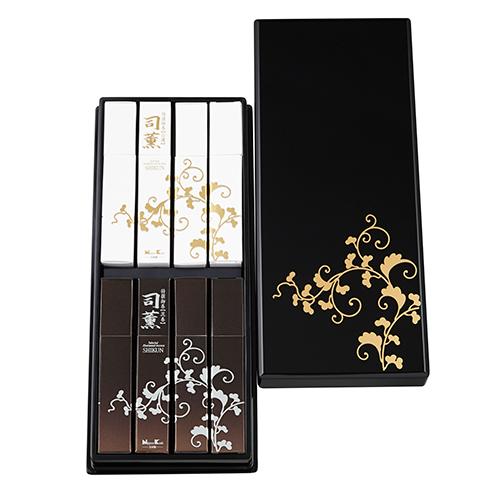 【日本香堂のお線香ギフト】司薫 白檀 沈香 8箱入 進物