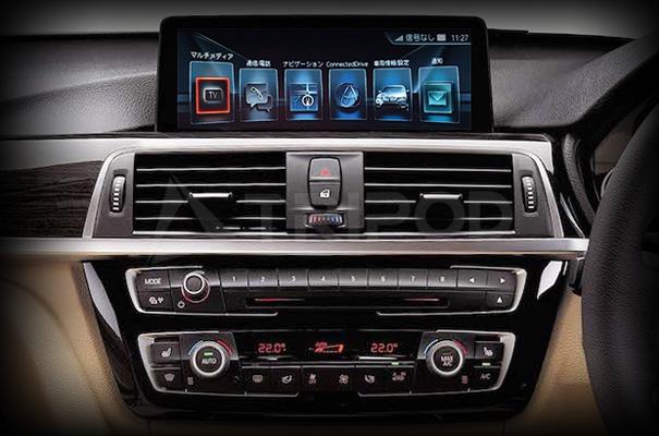 【セールクーポン配布中】【送料無料】BMW F30/20/48/MINI AVインターフェイスI-DRIVE5/6用 DVD/NAVI-FREE機能付8.8/10.2タッチモニター