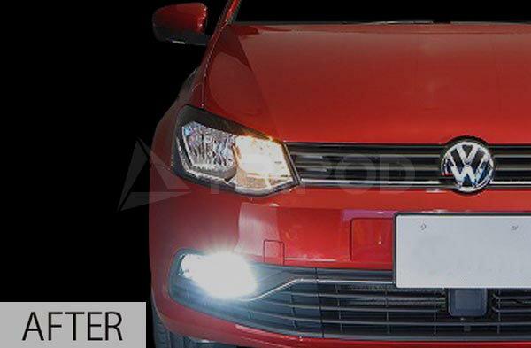 【セールクーポン配布中】【送料無料】VW ポロ 6Cフォグアタッチメントキット LEDモデルフォルクスワーゲン POLO