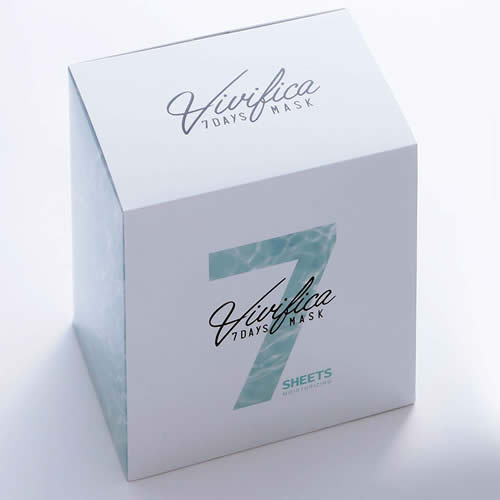 【送料無料!】Vivifica 7DAYS MASK MOISTURIZING <28枚入>【VIVIFICA ヴィヴィフィカ しっとり 保湿 フェイスマスク フェイスパック 7日間集中サポート 美容マスク スキンケア】
