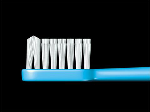 GC RUSCELLO B-10 TOOTHBRUSH 1 COUNT