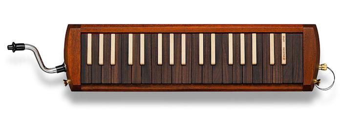 SUZUKI W-37 木製鍵盤ハーモニカ アルト メロディオン