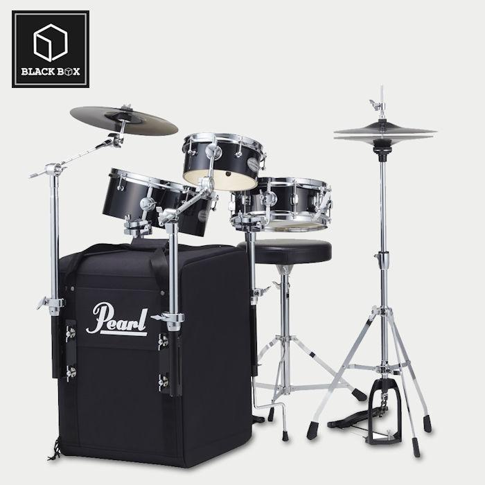 Pearl Rhythm Traveler Black Box RT-703/C Jet Black パール リズムトラベラー