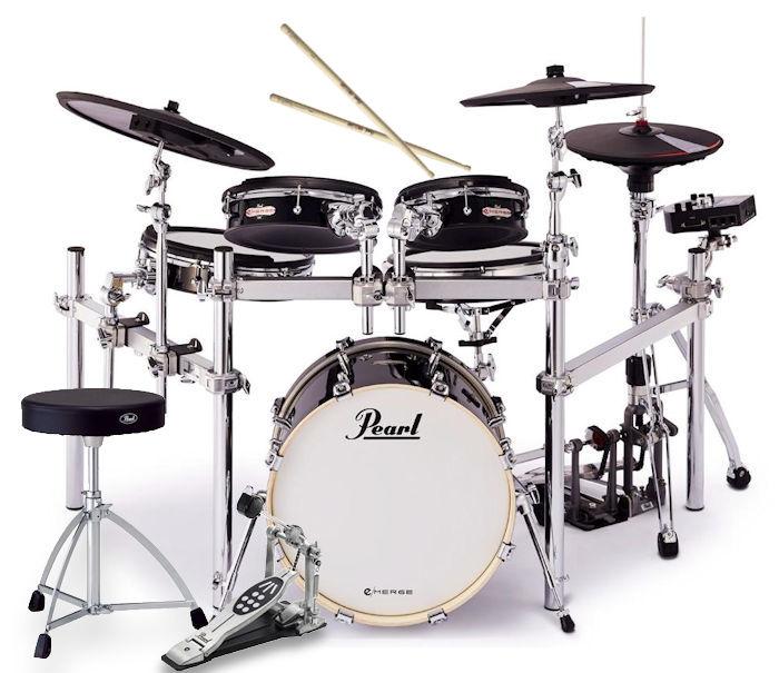 PEARL EM-53HB/set e/MERGE パール 電子ドラム e/HYBRID completkit コンプリートキット