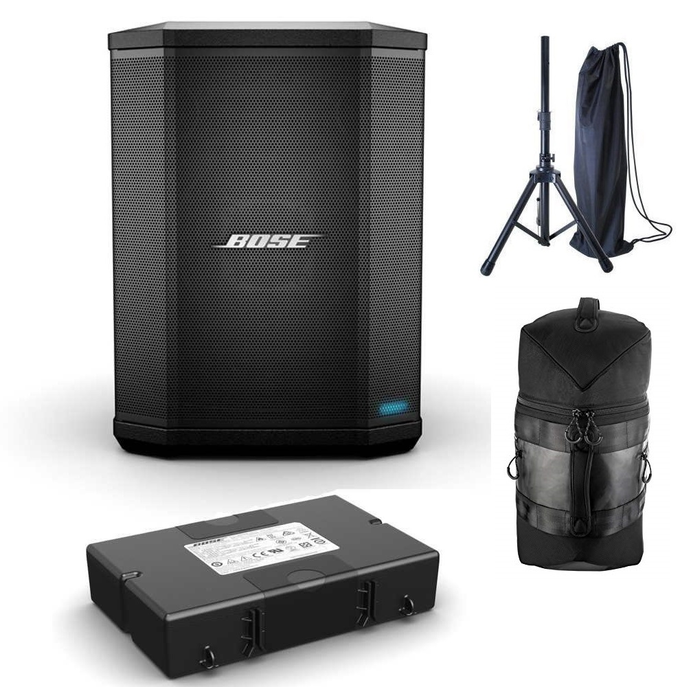 <title>BOSE S1 Pro Multi-Position PA system ボーズ 年末年始大決算 スピーカースタンド 専用バッグ 付属 Pro用 専用バッテリー同梱</title>