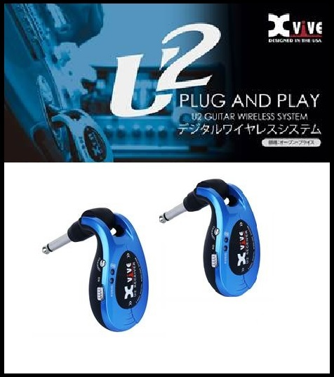Xvive XV-U2 BL デジタル ワイヤレスシステム ブルー XV U2