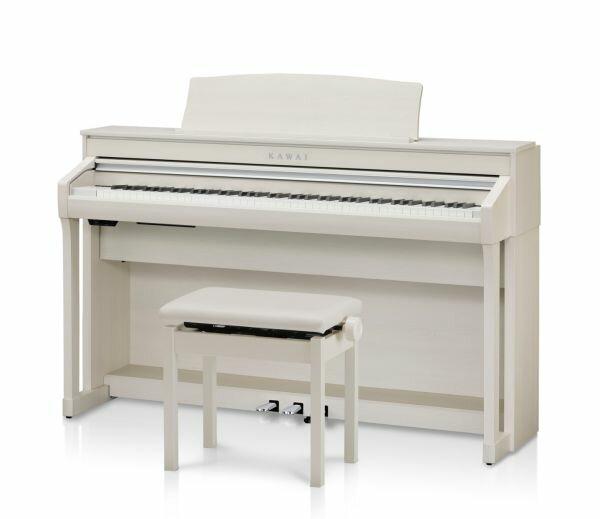 KAWAI CA58 A カワイ電子ピアノ 高低椅子付 プレミアムホワイトメープル調