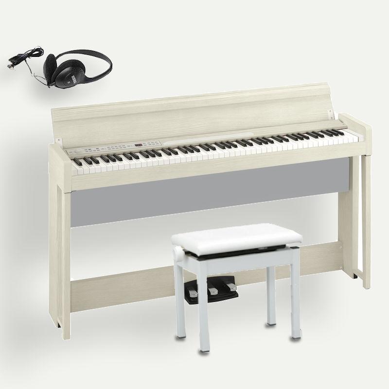 KORG C1 Air WA ホワイトアッシュ コルグ電子ピアノ 高低椅子 ヘッドホン付
