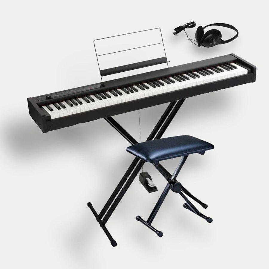 KORG D1 コルグ電子ピアノ X型スタンド(W支柱) 椅子 ヘッドホンセット スピーカーレス ワイヤレスヘッドホンプレゼント 保証プラン