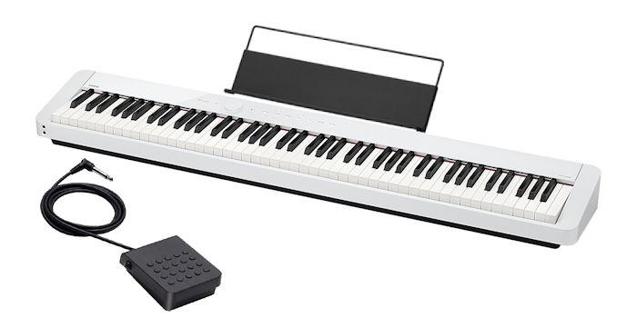 カシオ 電子ピアノ 88鍵盤 CASIO PX-S1000 WE Privia