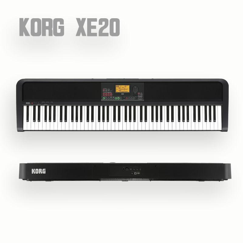 KORG 日本産 XE20 BK 電子ピアノ コルグ 新作 88鍵盤