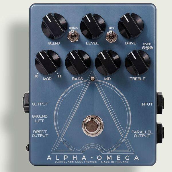 Darkglass ダークグラス Electronics ALPHA.OMEGA