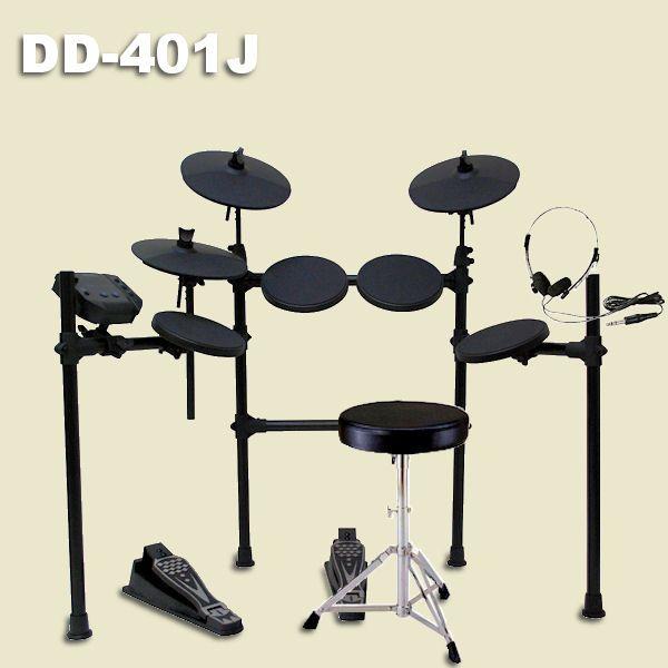 電子ドラム セット MEDELI DD-401J MEDELI DIY KIT 椅子 電子ドラム KIT・ドラムスティック・ヘッドホン付, 安藤ミシン商会:024d7261 --- officewill.xsrv.jp
