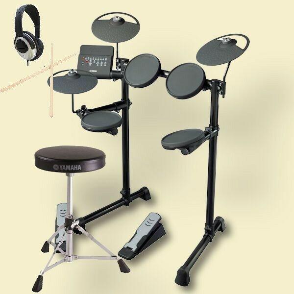 YAMAHA DTX400KS ヤマハ電子ドラム 椅子 DS550U ヘッドホン付