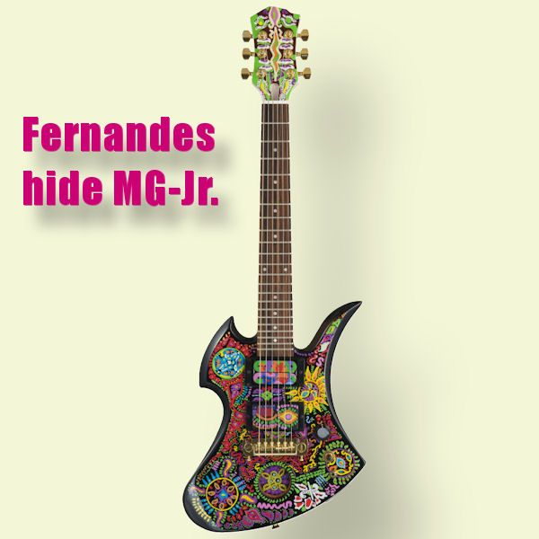 Fernandes hide MG-Jr hide モデル ミニギター