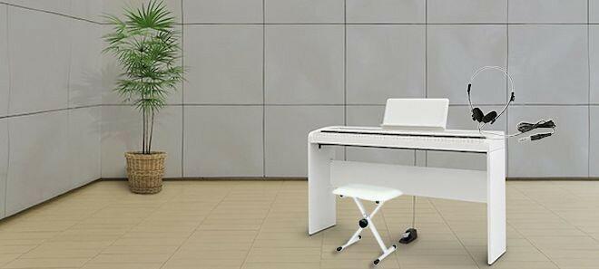KORG B1 WH コルグ 電子ピアノ 専用スタンド STB1 椅子 ヘッドホン付