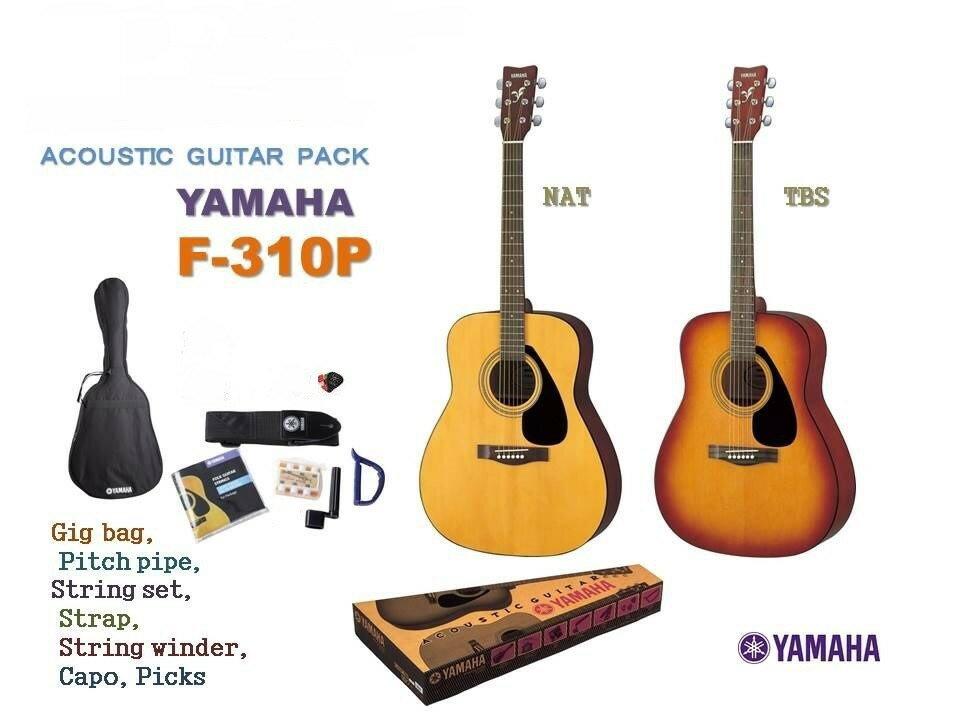YAMAHA F-310P 初心者 入門9点セット ヤマハ 特典 クリップチューナー付属 F310P 6/18頃入荷予定