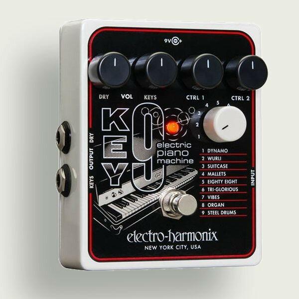 electro-harmonix KEY9 エレクトロハーモニクス エフェクター エレクトリックピアノシミュレーターElectric Piano Machine 【国内正規品】