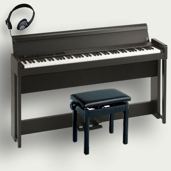 KORG 電子ピアノ C1 電子ピアノ Air BR KORG コルグ BR 高低椅子 ヘッドホン付, 泡盛ワールド:904bb337 --- officewill.xsrv.jp