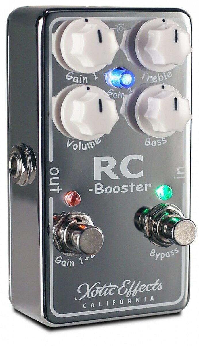 【最大36倍】【エントリーで20倍確定】【30日~1日】Xotic エキゾチック エフェクター ブースター RC Booster V2 RCB-V2 国内正規品