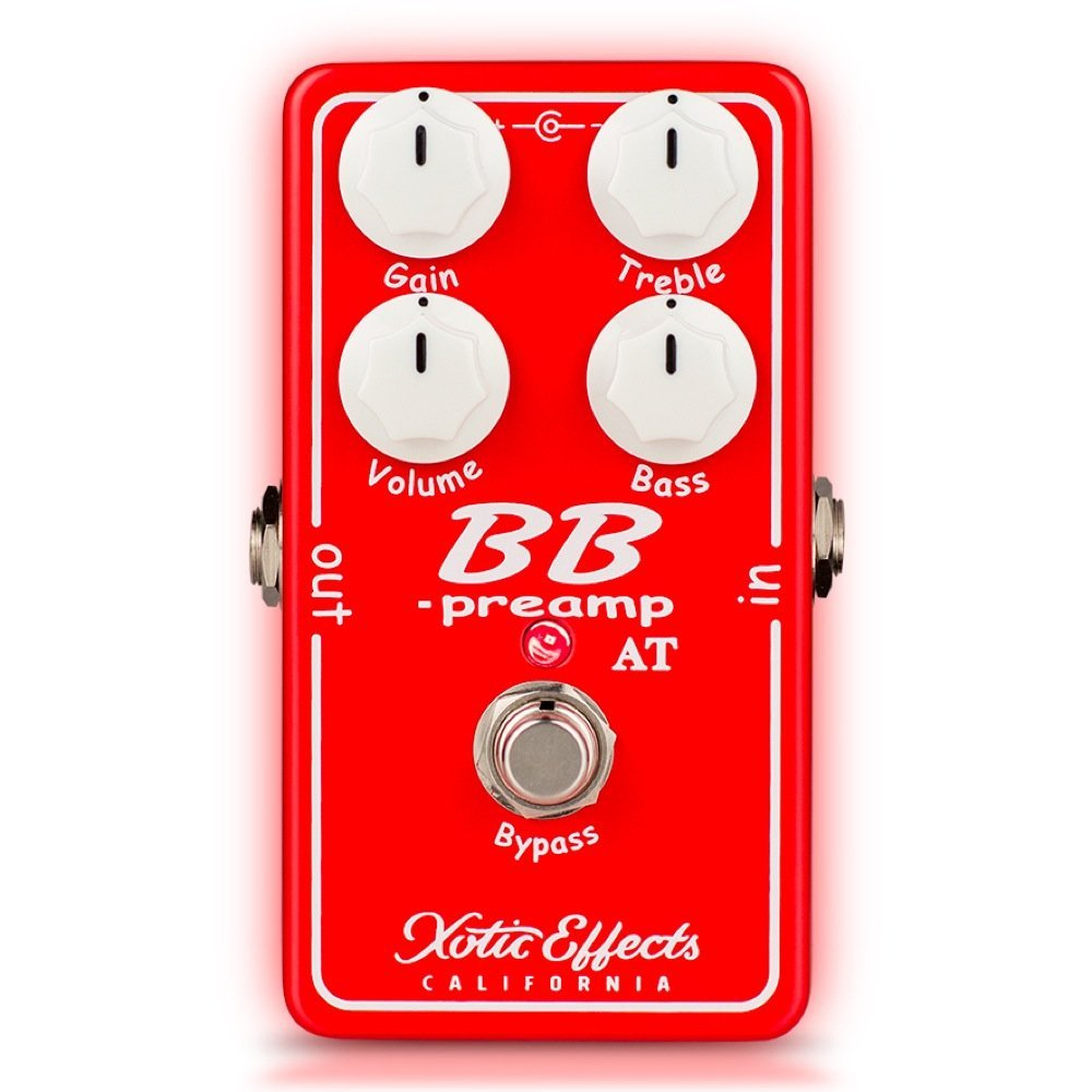 Xotic BBT-AT BB Preamp Andy Timmons Signature Model プリアンプ