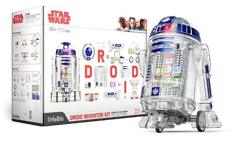 【最大36倍】【エントリーで20倍確定】【30日~1日】littleBits STAR WARS R2-D2 ドロイド・キット オリジナル R2D2 Droid Inventor Kit スマホ 制御