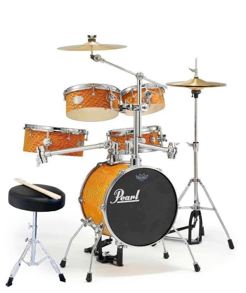 Pearl パール リズムトラベラー RT-645N/C #439 Orange Swirl Rhythm Traveler Ver.3S Limited Model