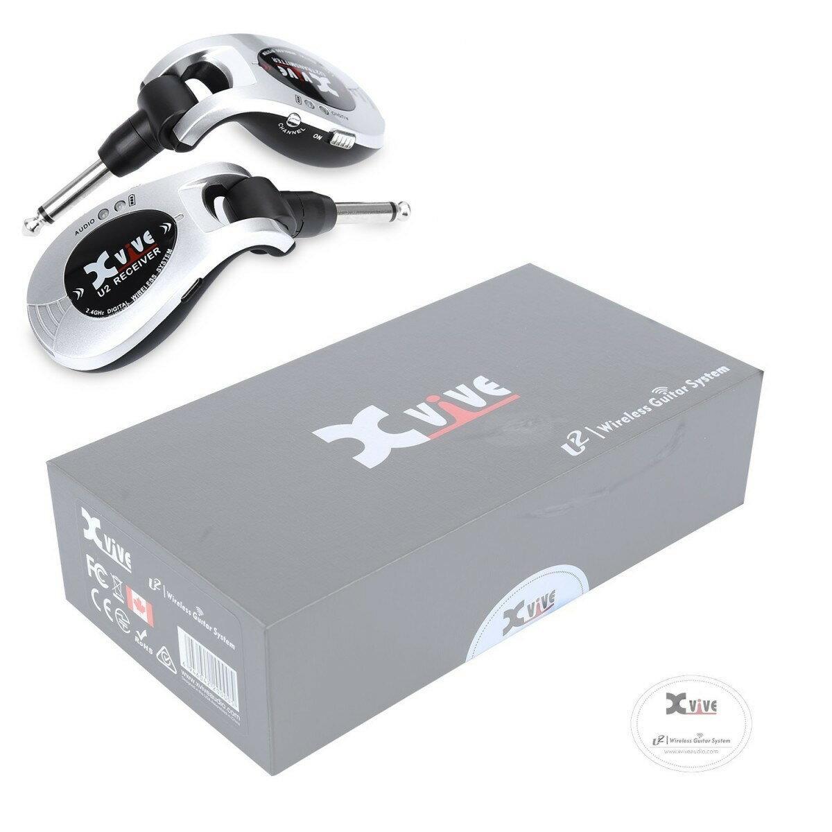 Xvive XV-U2 SV デジタル ワイヤレスシステム シルバー XV U2