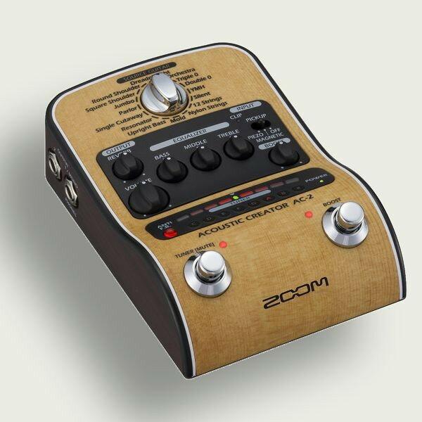 ZOOM AC-2 Acoustic Creator アコースティックギター用 プリアンプ AC2