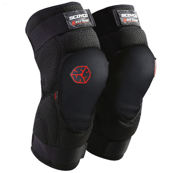 SCOYCO プロテクター 膝用 転倒防護 膝当て バイク ウェア