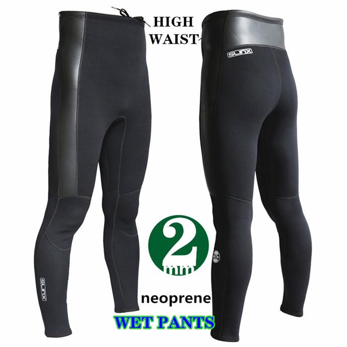 ダイビングパンツ ウェットスーツ メンズ 男性用 2mmウェットパンツ ロングパンツ ウェットスーツ サーフィン ネオプレン素材