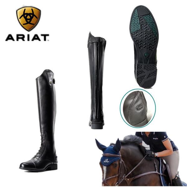 乗馬用品 本革 乗馬ブーツ 牛革 ブーツ 長靴 ロングブーツブラック 馬具タウンユースブーツ 乗馬用 乗馬靴 男女兼用ジュニア