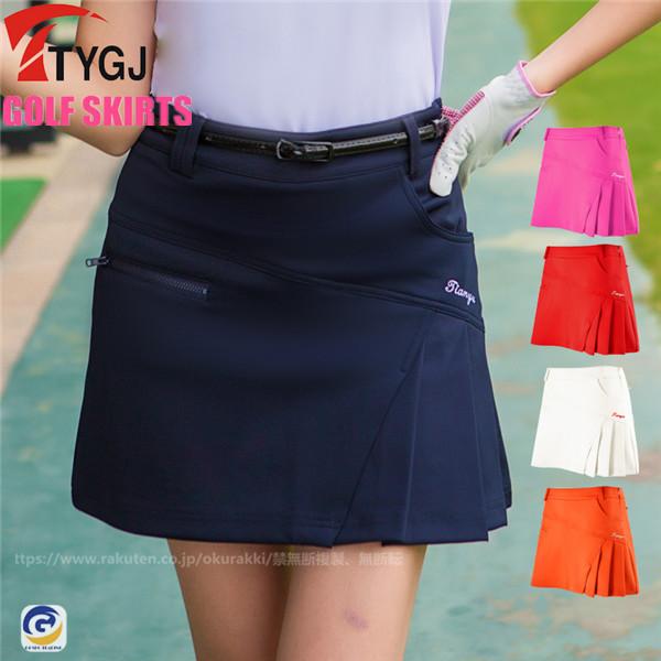 立体裁断で動きやすいゴルフスカート ゴルフウェア レディース ゴルフ スカート インナーパンツ付スカート 祝日 ミニスカート ペチパンツ付属 おしゃれ ショート丈 かわいい 人気上昇中 丈短め 新作
