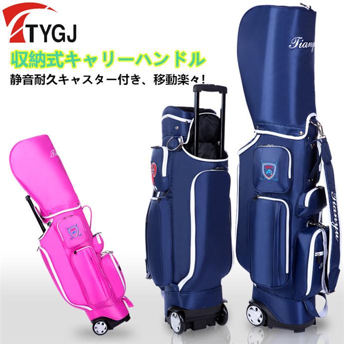 ゴルフ 新モデル 新品 キャディバッグ キャスター付き メンズ レディース クラブケース ゴルフバッグ 男女兼用 軽量 練習用 大容量 保障 ゴルフケース