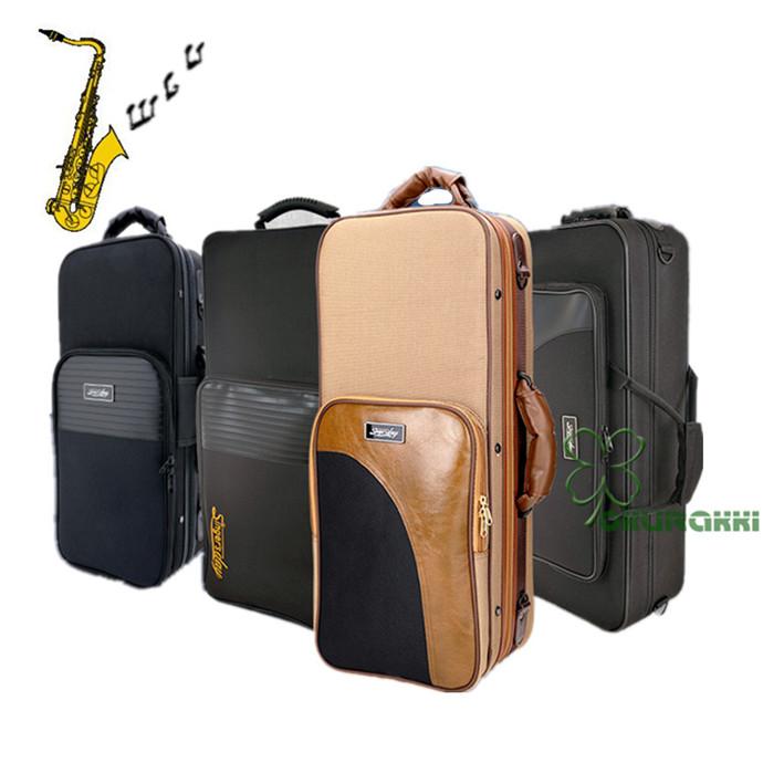セール特価 機能性かつ持ち運び楽々サックス用ケース サックス用ケース アルト 楽器 管楽器 アルトサックス 商舗 セミハードケース 3WAY 手提げ リュック ショルダー ケース クッション付き