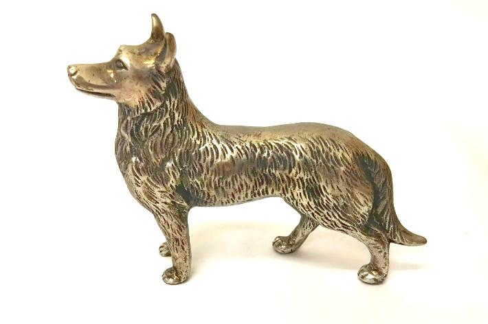 インテリア 小物 置物 選択 戌 動物 干支 縁起物 犬 中古 伝統工芸品 高岡銅器 1点限り 日本製 男女兼用
