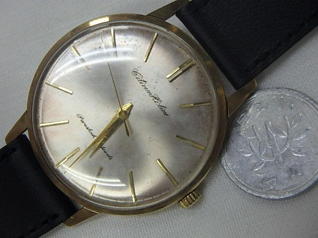 シチズン 手巻き メンズ腕時計【中古】