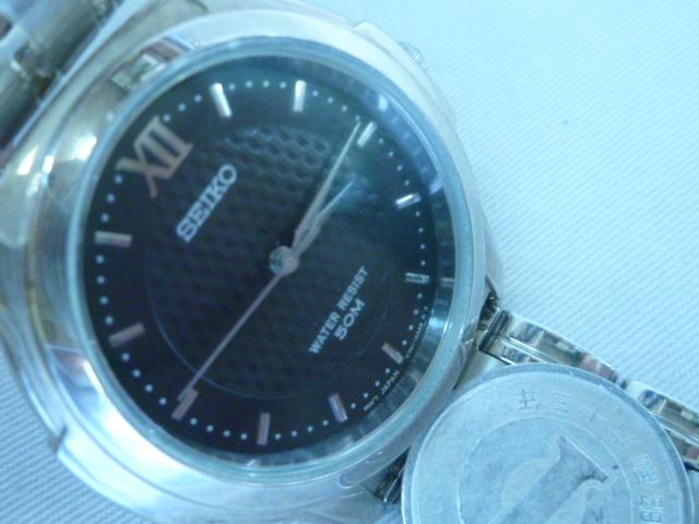 ウオーターレジスト セイコー メンズクオーツ 時計 2020新作 未使用品 中古