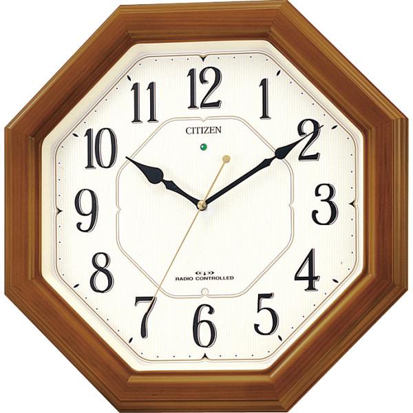 シチズン 木枠電波掛時計 4MY645ー006御祝 ギフト プレゼント 贈り物