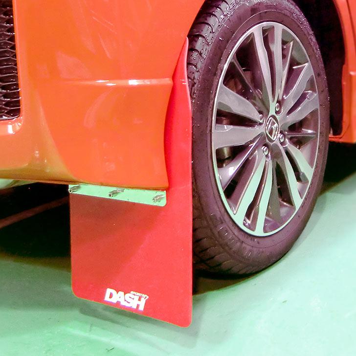 ラリー ダートトライアル等走行時の泥や石はねからボディやフロア下部を保護します 定番スタイル 2020A/W新作送料無料 ホンダ フィット リア マッドフラップ GK5