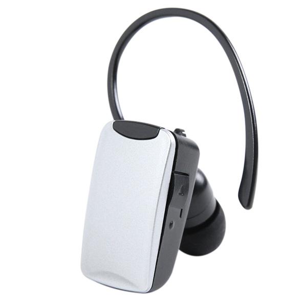 Bluetoothヘッドセット MicroUSB充電ケーブル付iPhone スマホ 対応 【月間優良ショップ】 送料無料 Bluetooth ヘッドセット ワイヤレスイヤホン MicroUSB ケーブル付 iPhone スマホ 対応 音楽や通話をワイヤレスで楽しめる 【シルバー】 BT-06S ゆうパケット用箱 簡易包装 キャンプ アウトドア