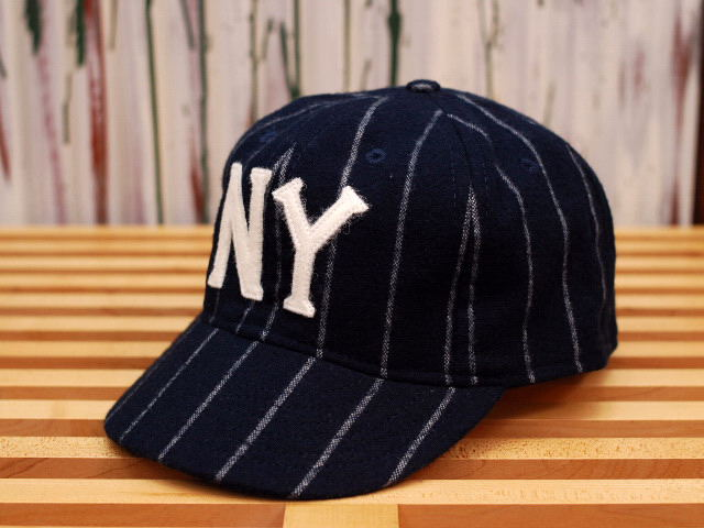 218846ec261 ... canada 1936 cooperstown ball cap baseball cap new york black yankees  navy x white pin stripes